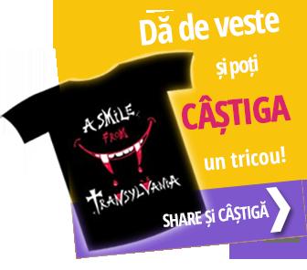 Dă de veste și câștigă un tricou personalizat!