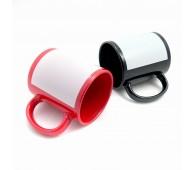 Cana neagra/ rosie cu chenar sublimare