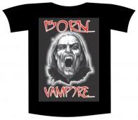 """Tricou imprimat """"Born vampire"""""""