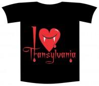 "Tricou imprimat ""I love Transylvania"""