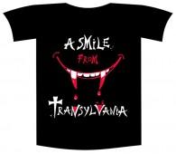 "Tricou imprimat ""Smile from Transylvania"""